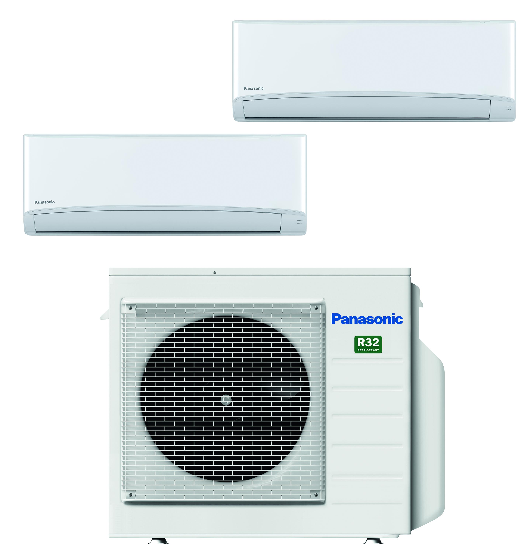 luft luft värmepump två innedelar